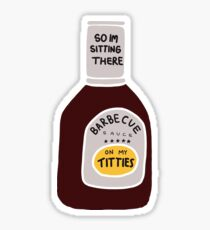 Barbecue Sauce Sticker
