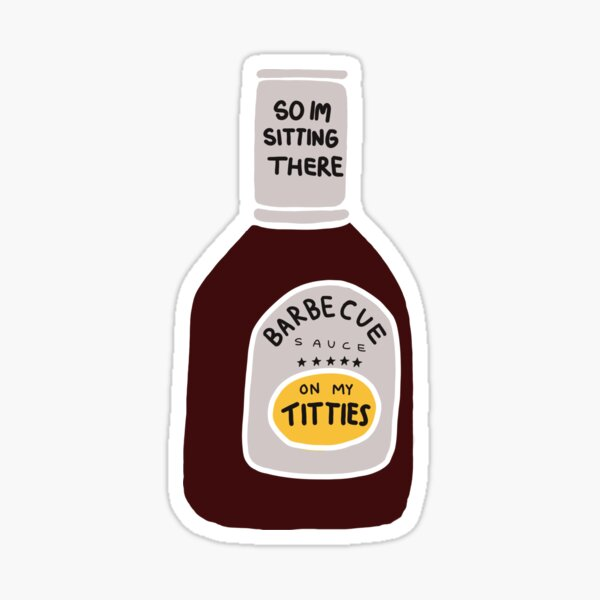 Sauce barbecue Sticker