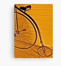 Penny - farthing Canvas Print