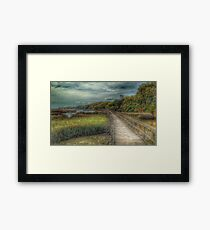 Marsh Boardwalk Framed Print