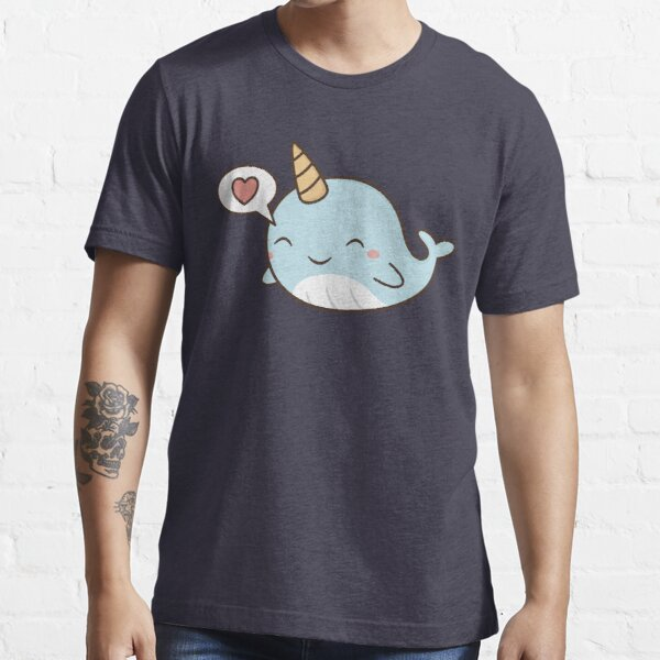 Kawaii Cute Narwhal  Essential T-Shirt