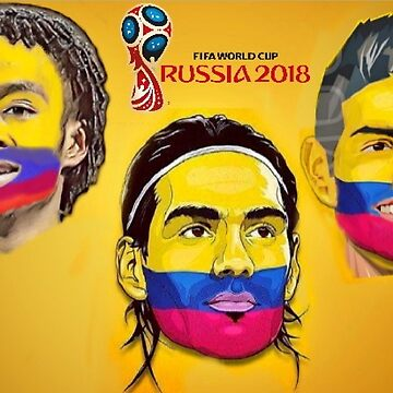 Colombia Russia 2018 by danbrobro