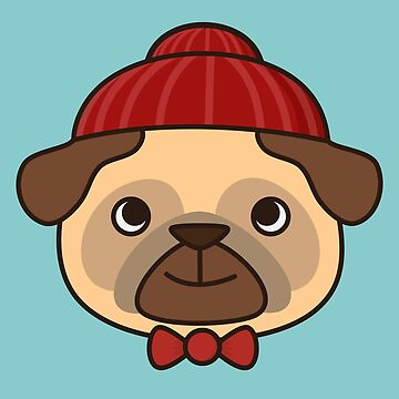 Beanie Pug Is Kawaii And Cute by happinessinatee