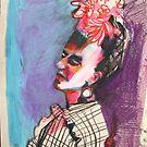 Frida Kahlo by Rina Miriam  Drescher