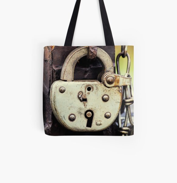 Lockup All Over Print Tote Bag