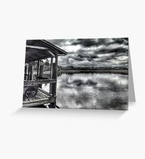 Salt Marsh Dock Greeting Card
