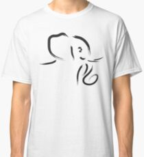 Simple Elephant Classic T-Shirt