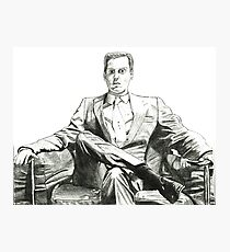 Moriarty - Andrew Scott Photographic Print