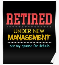 retirement party posters redbubble