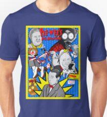 Pee Wee's big adventure 30th anniversary tribute art Unisex T-Shirt