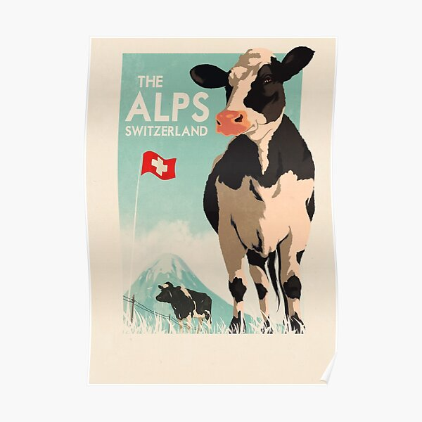 Travel Posters - Switzerland  Poster