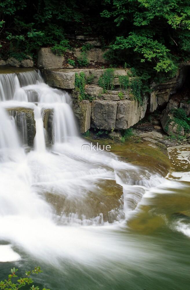 Taughannock Creek, Trumansburg, NY by mklue