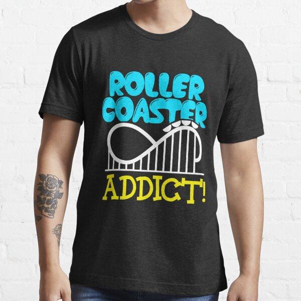 Cool Rollercoaster Junkie Apparel Essential T-Shirt