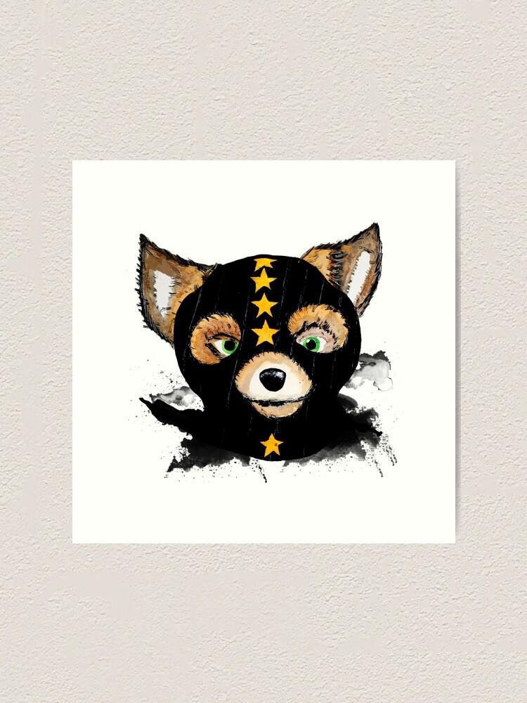 Fantastic Mr Fox Art Print By Pintarrajearte Redbubble