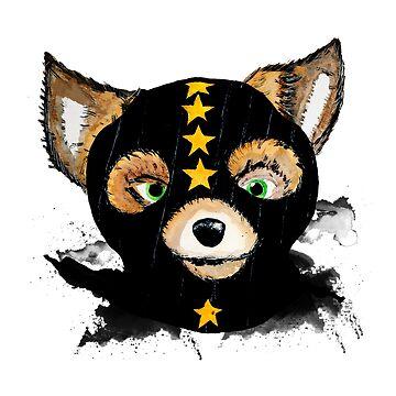 Fantastic Mr. Fox by Pintarrajearte