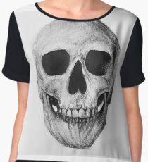 Skulls 2 Chiffon Top