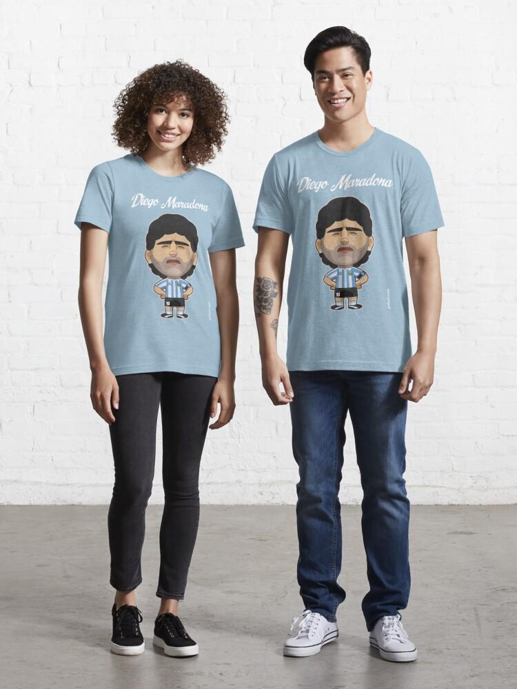 hellblau Neapel Maradona 10 Team T-Shirt Boys
