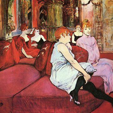 TOULOUSE-LAUTREC Salon 1876 by TheGrandTour