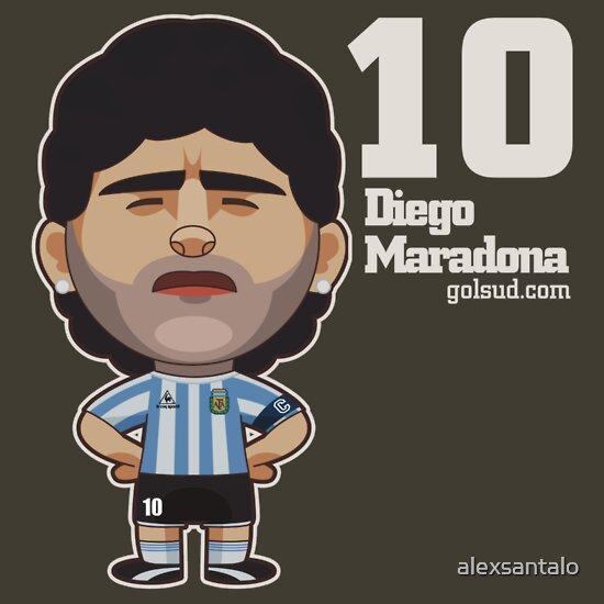 TShirtGifter presents: Maradona 2