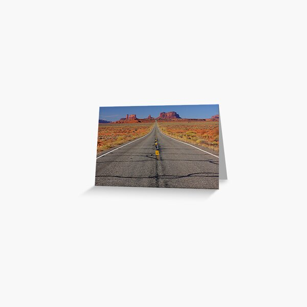 Mile Marker 13 Greeting Card