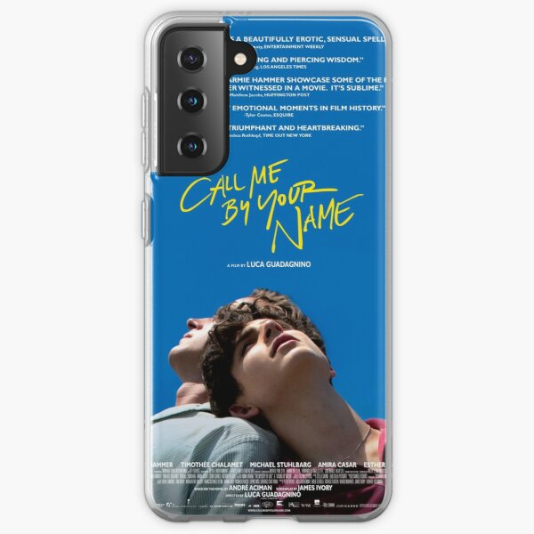 Call Me By Your Name Film Poster Samsung Galaxy Soft Case