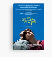 Call Me By Your Name Film Poster Canvas Print