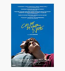 Call Me By Your Name Film Poster Photographic Print