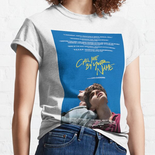 Call Me By Your Name Film Poster Classic T-Shirt