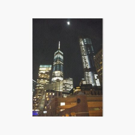 New York City, New York, Brooklyn, Manhattan, building, house, skyscraper, Street View, street, cars Art Board Print