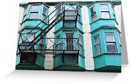 Bay Windows  by Ethna Gillespie