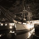 Nautical nocturne by Peter Krause