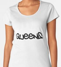 Queens NYC 02 Women's Premium T-Shirt
