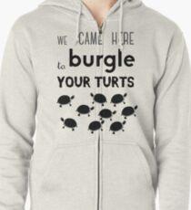 your turts Zipped Hoodie