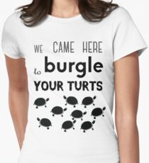your turts Women's Fitted T-Shirt