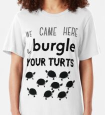 your turts Slim Fit T-Shirt