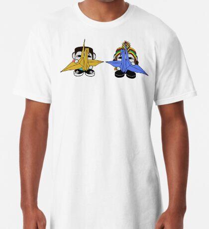 STPC: Naka Do & Oyo Yo with Origami Cranes (Never Forget) Long T-Shirt