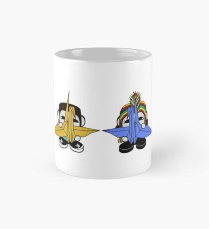STPC: Naka Do & Oyo Yo with Origami Cranes (Never Forget) Mug