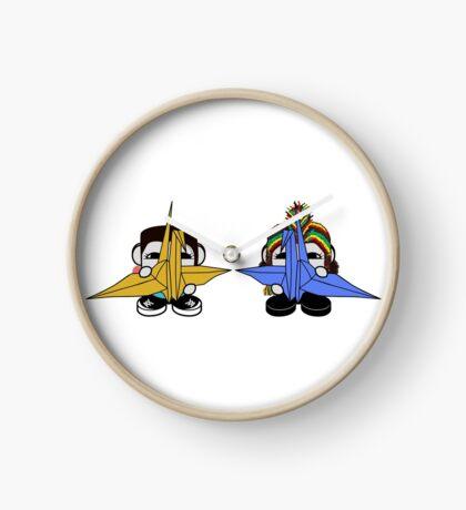 STPC: Naka Do & Oyo Yo with Origami Cranes (Never Forget) Clock