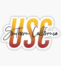 USC Southern California Gradient Sticker