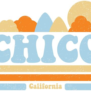 Chico T-shirt (Vintage Design) by hiltondesigns