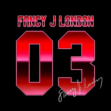 Fancy J London - Signed 03 Jersey Style by fancyjlondon