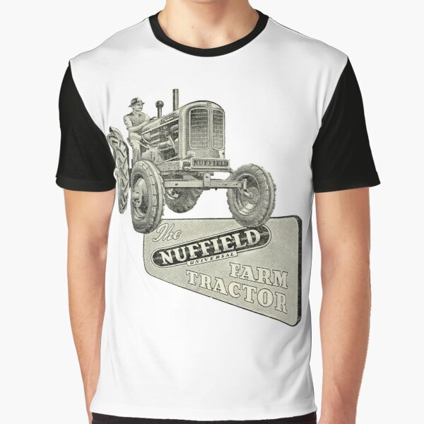 Nuffield Tractors. The 1950s Farmers Best Friend Graphic T-Shirt