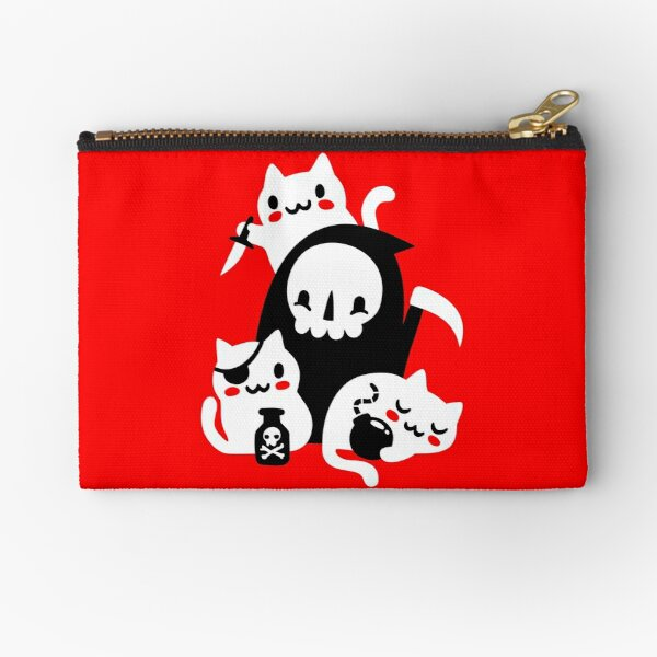 Deaths Little Helpers Zipper Pouch