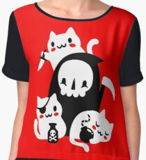 Deaths Little Helpers Chiffon Top