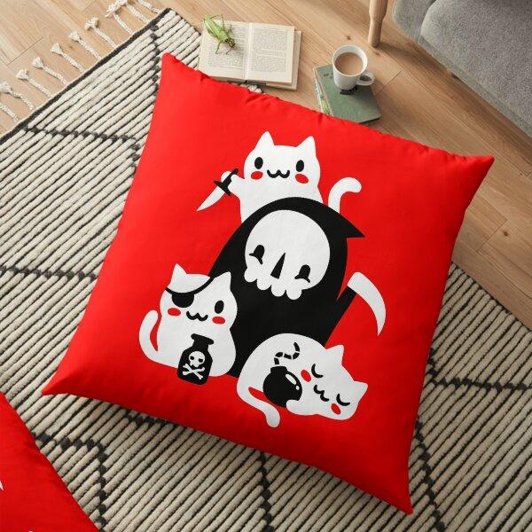 Deaths Little Helpers Floor Pillow