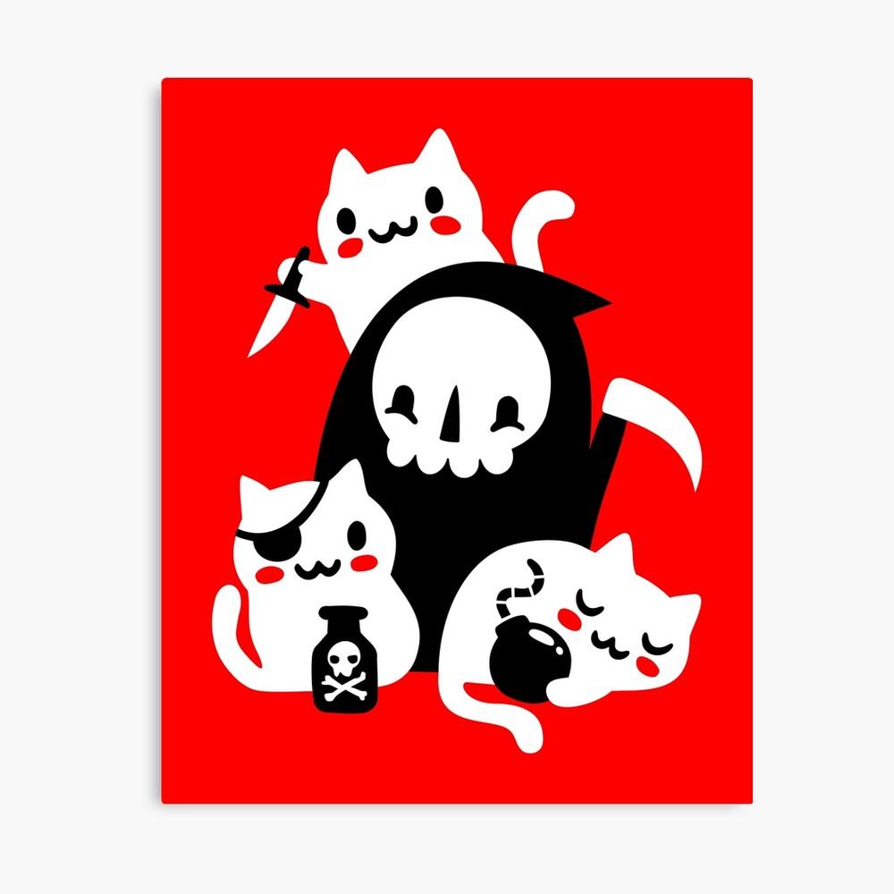 Deaths Little Helpers Canvas Print