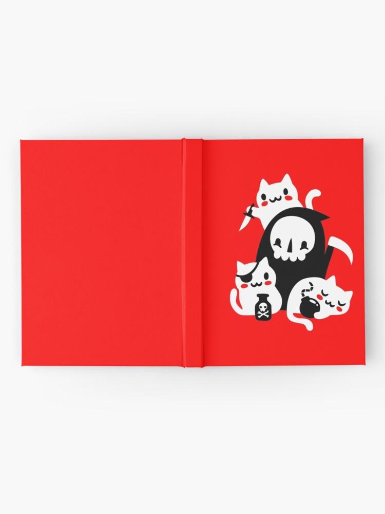 Alternate view of Deaths Little Helpers Hardcover Journal