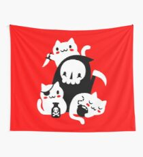 Deaths Little Helpers Wall Tapestry