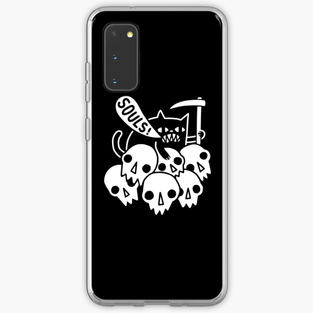 Cat Got Your Soul? Case & Skin for Samsung Galaxy