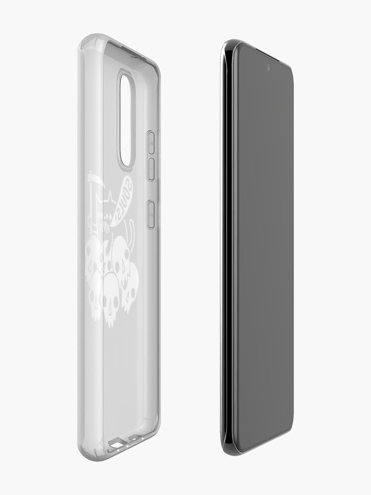Alternate view of Cat Got Your Soul? Case & Skin for Samsung Galaxy